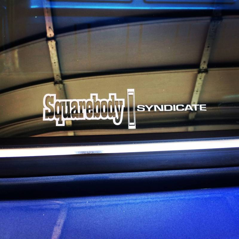 Squarebody Syndicate decal