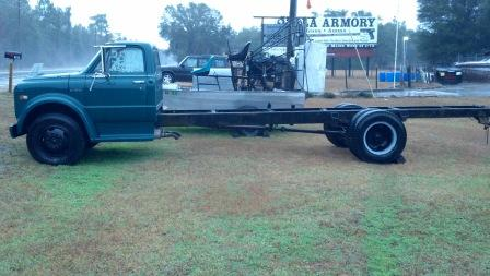 1972 C50 pickup conversion