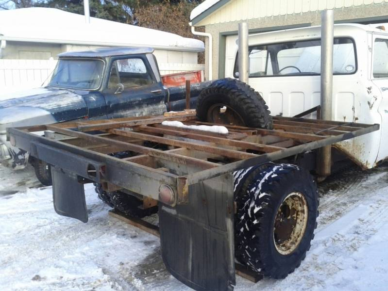 1965 GMC One Ton 4x4 Project