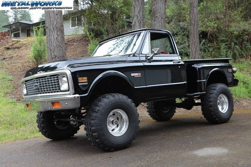 MetalWorks built 1972 Chevy Cheyenne
