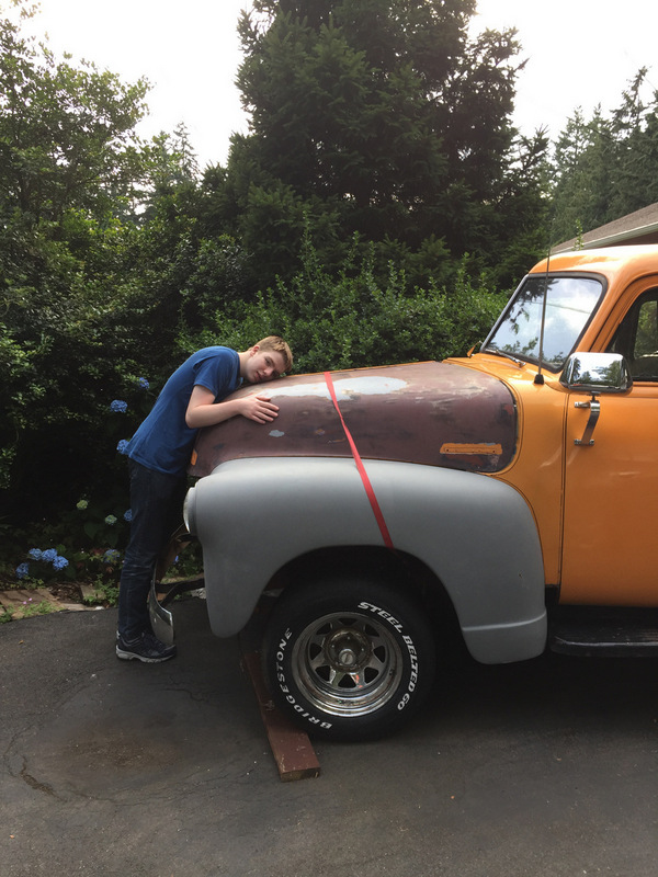 Mabel - 1951 Chev 3100 - as she came to us July 2016