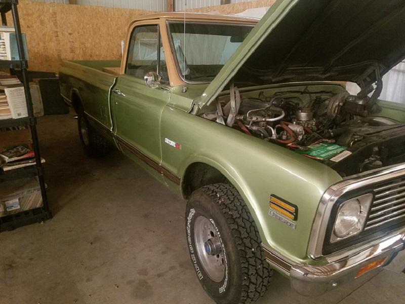 1972 K10 Cheyenne Super w/ Horrible Brown Cab Top