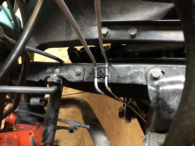 1968 chevy truck front brake lines