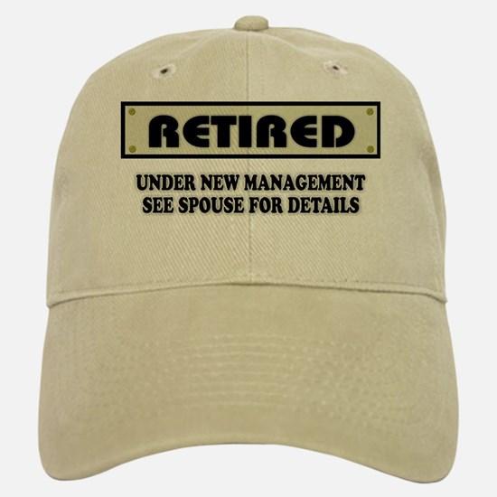 funny_retirement_gift_retired_under_new_mana_baseball_baseball_cap