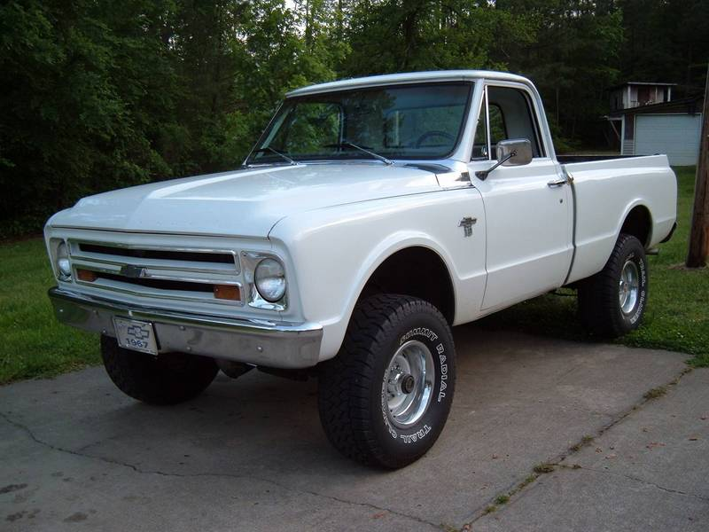 67 Chevy K10, 4WD, 350/th350, Shortbed
