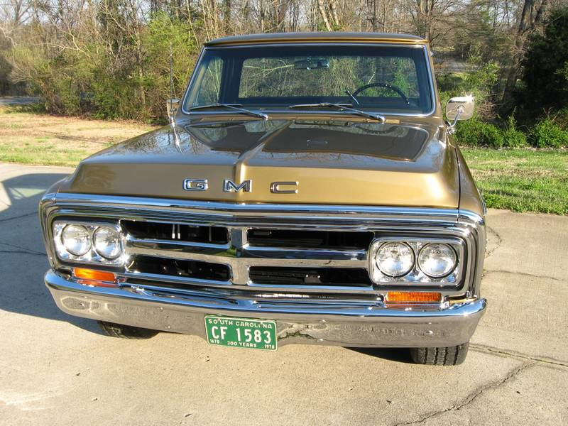 70 GMC front