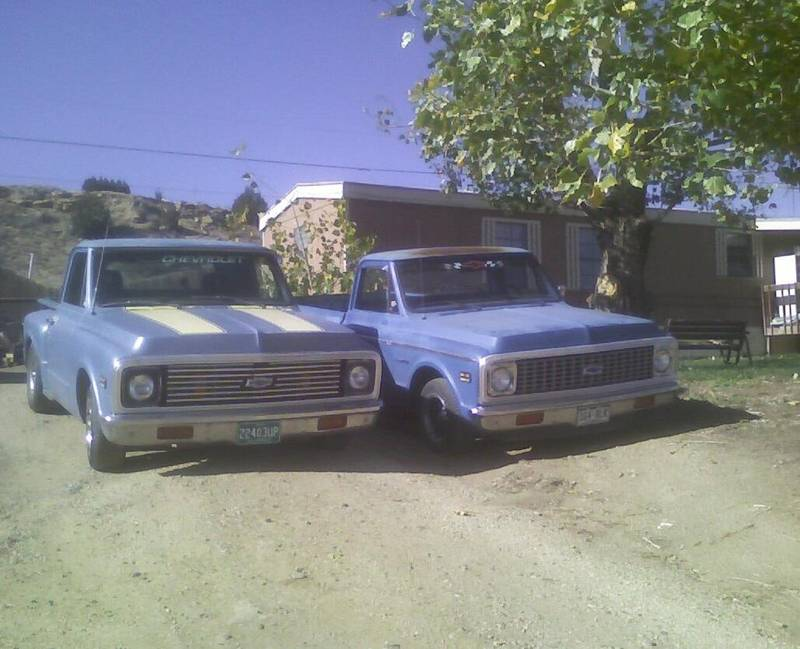 my 67 and my daughters 72