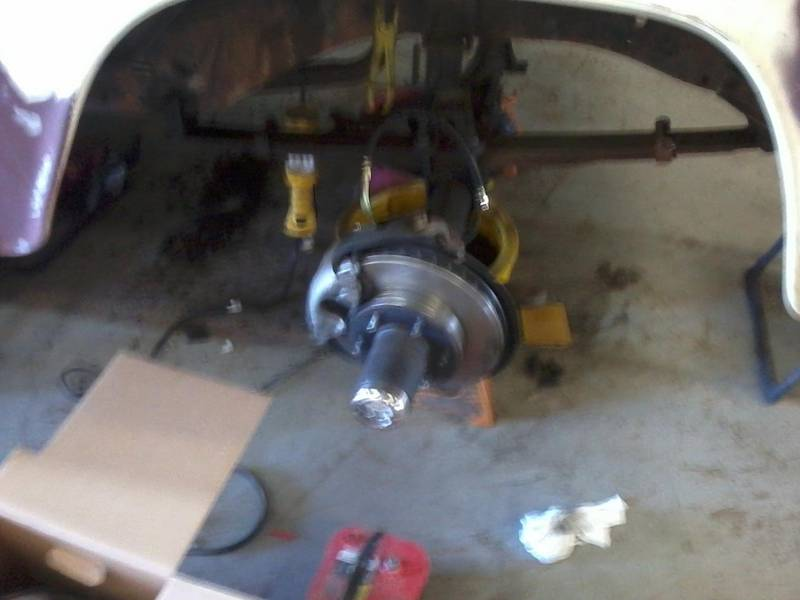 New front disk brakes