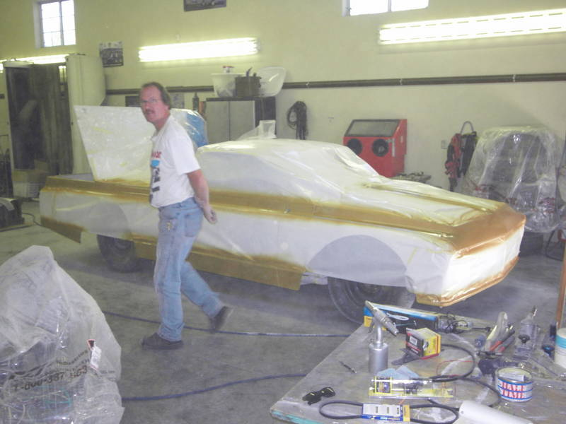Final Paint for the #72 StreetStock car/truck