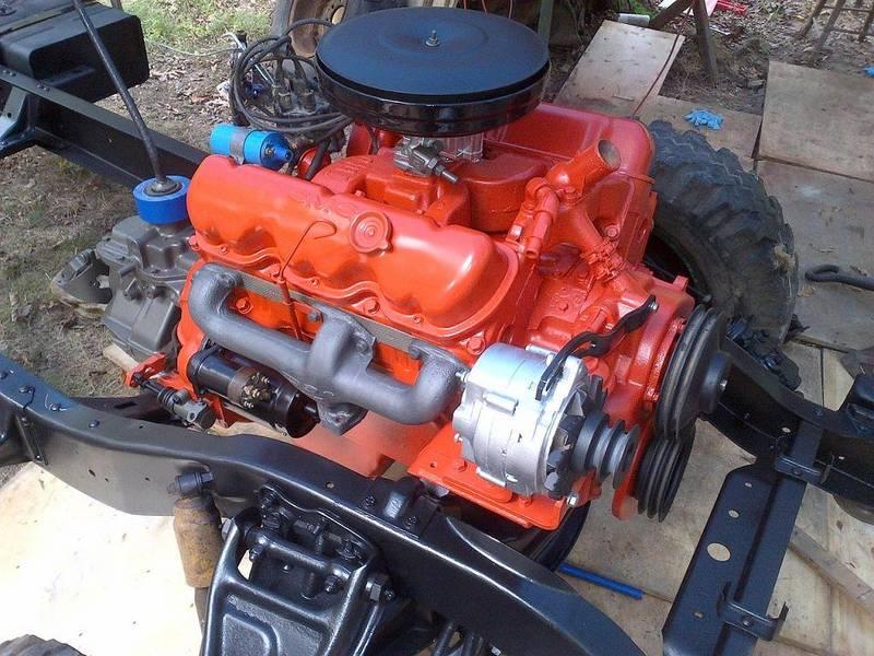 engine installed