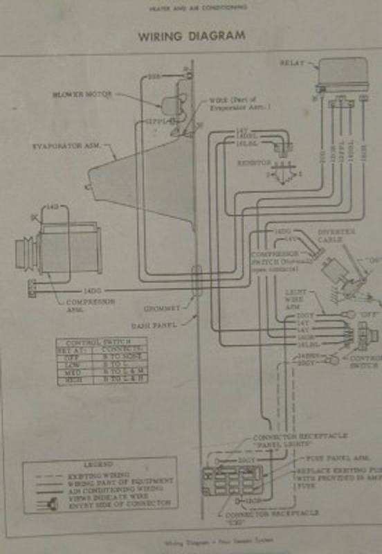 70 Chevy A  C Wiring Diagram - The 1947