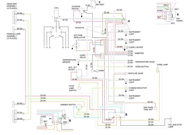 59 Chevy Truck Wiring Diagram - Technical Diagrams on