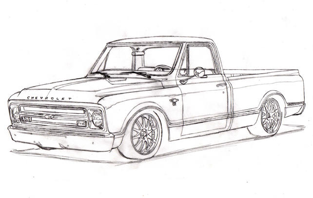 67 72 chevy project truck