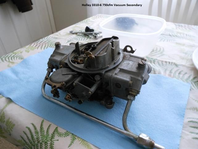 Holley 3310-6 (750cfm 4160) Cleaning and Rebuild - The 1947
