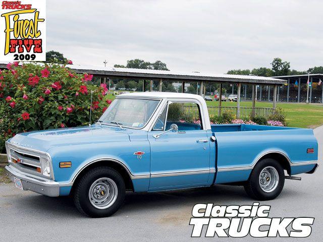 68 chevrolet trucks