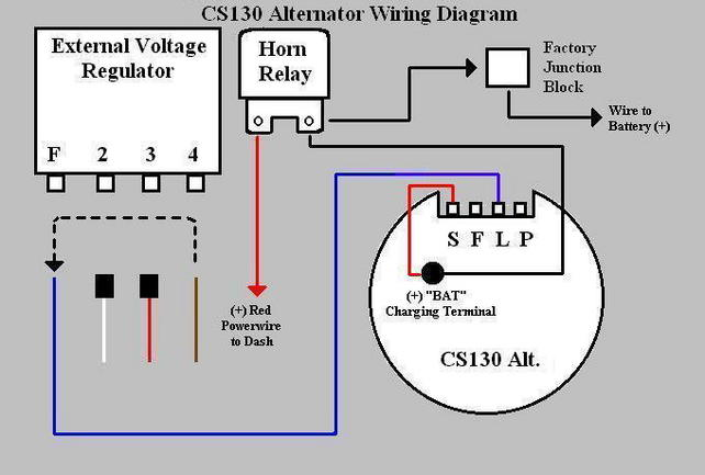 130 looper 96 wiring diagram cs130 alternator conversion on 68 vette - corvetteforum ...