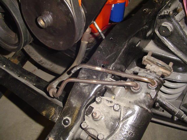 What S Wrong With This Power Steering Hose Routing Besides It Hits