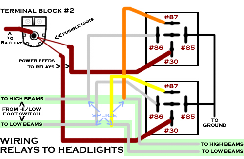 anyone use the headlight relay wire harness from lmc the. Black Bedroom Furniture Sets. Home Design Ideas