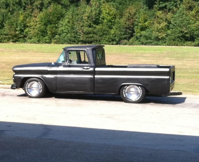 Best Tire Combo 66 C10 With 15 Rims The 1947 Present Chevrolet