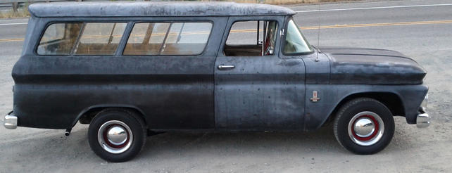 1963 Chevrolet Suburban Carryall Pics And A Few