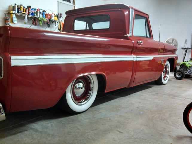 Ez Air Ride Installed on my 64' Chevy!!! - The 1947