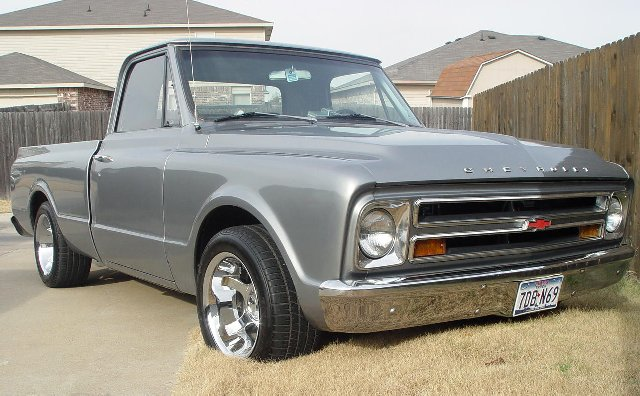 Anyone have pics of silver 67-72 C10's - The 1947 ...