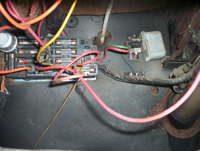 Attachment on 72 chevy fuse box diagram