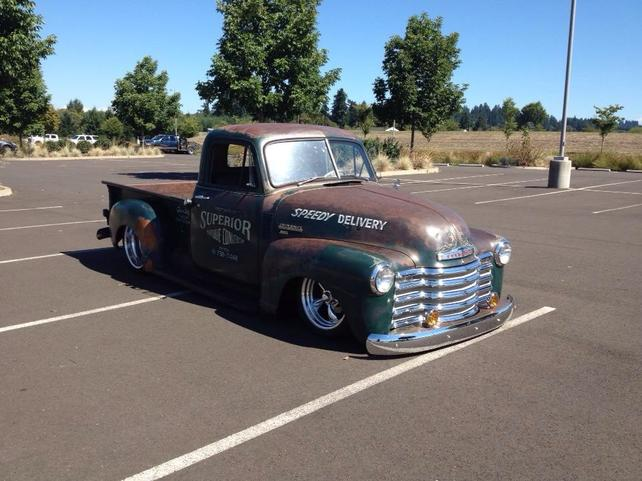 1950 shop truck, 48 pro touring and a new purchase 53! - The