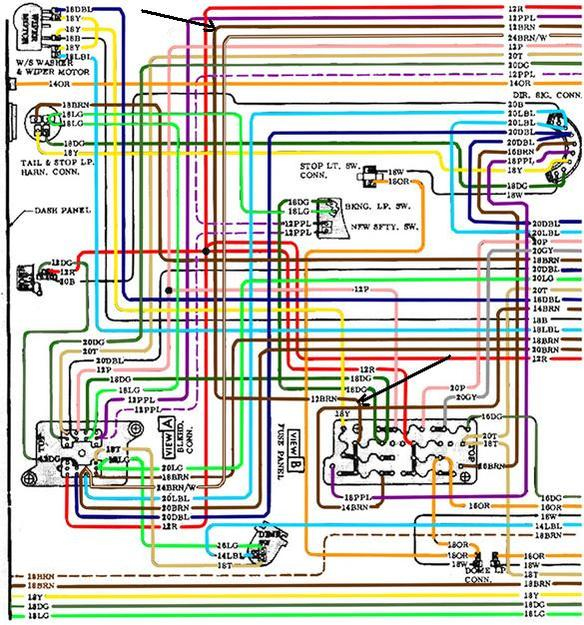 Color Wiring Diagram FINISHED - Page 10 - The 1947 - Present ...