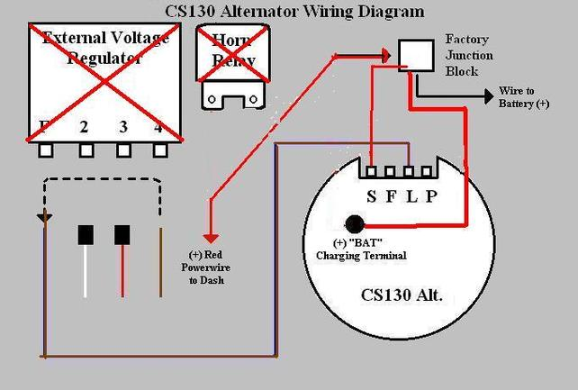 alternator external regulator wiring diagram alternator help again ls1tech camaro and firebird