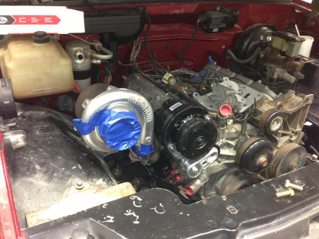 Bolt on Turbo Kit for LS swapped OBS trucks - The 1947
