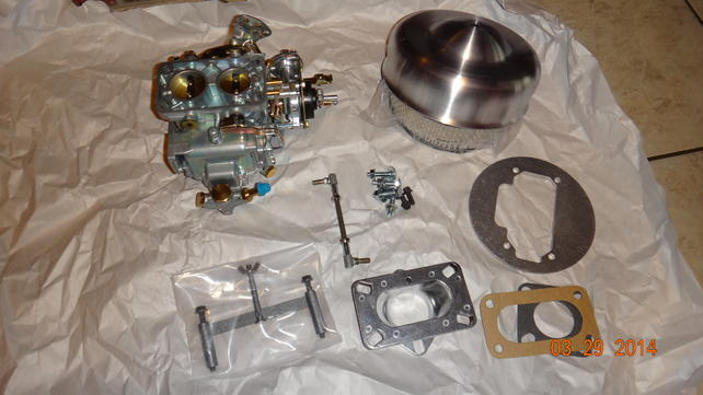 Langdons Stovebolt Carb  install for inline 6 - The 1947