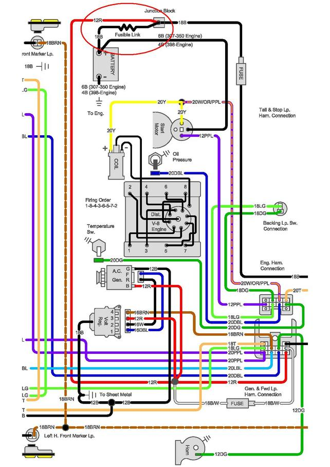 72 Chevy Blazer Ignition Wiring Diagram - Schematics Online on