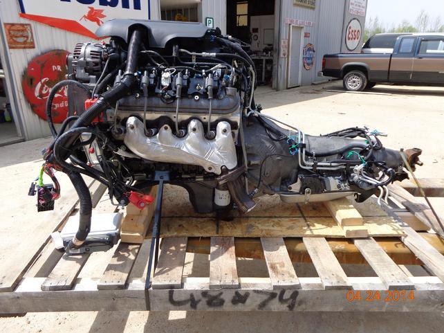 AR 1 2006 lq4 6 0 vortec engine and 2wd 4l80e combo