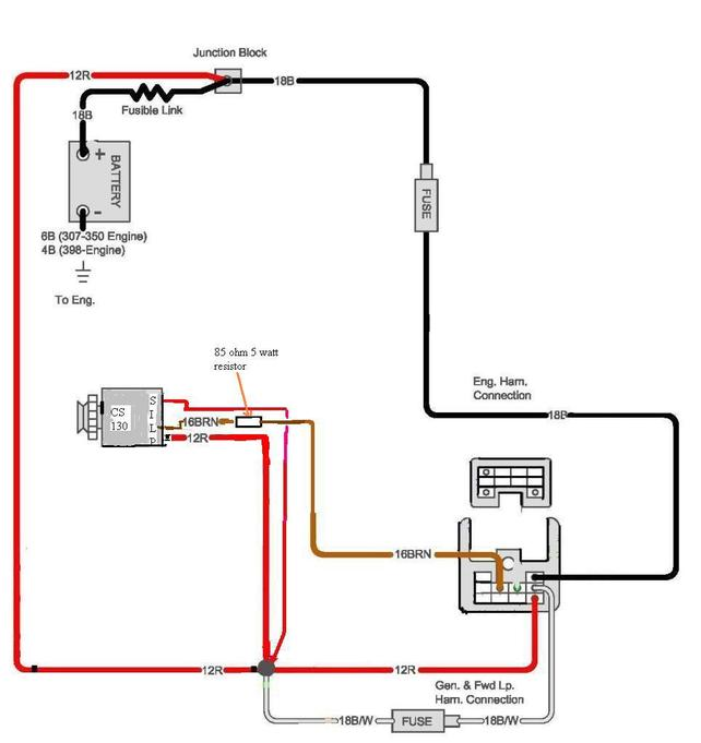 Showthread on voltage regulator diagram