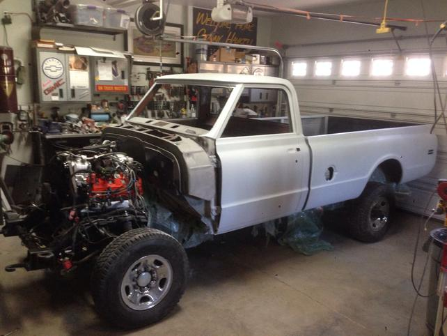1970 C20 Long Bed Duramax Allison On A 2003 4x4 Chassis Page 4
