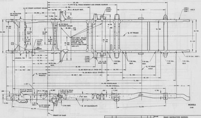 1958 Apache frame measurements - The 1947 - Present Chevrolet & GMC ...