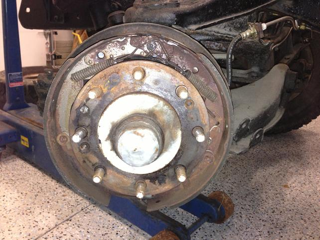 Questions about 1965 C20 front end drum to disc - The 1947