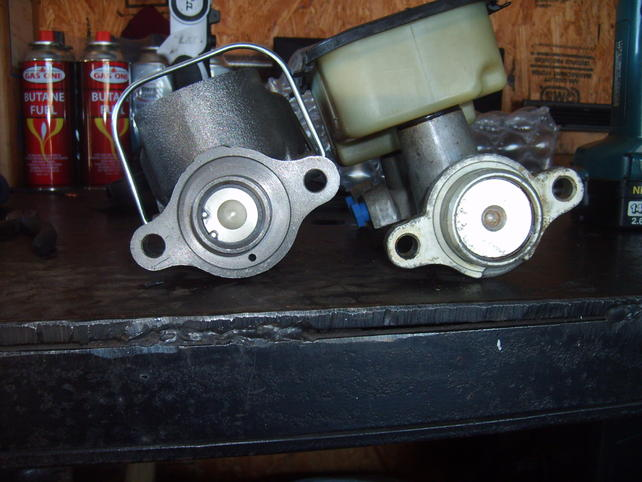 Rear disc conversion and master cylinder - The 1947 - Present