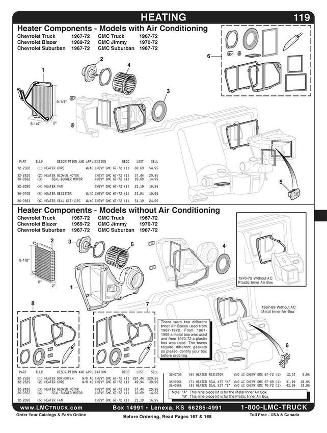 1972 Chevy Pickup Blower Motor Diagram - Wiring Diagrams on