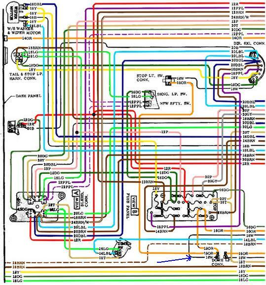 wiring diagram for a 1972 chevy truck – readingrat, Wiring diagram