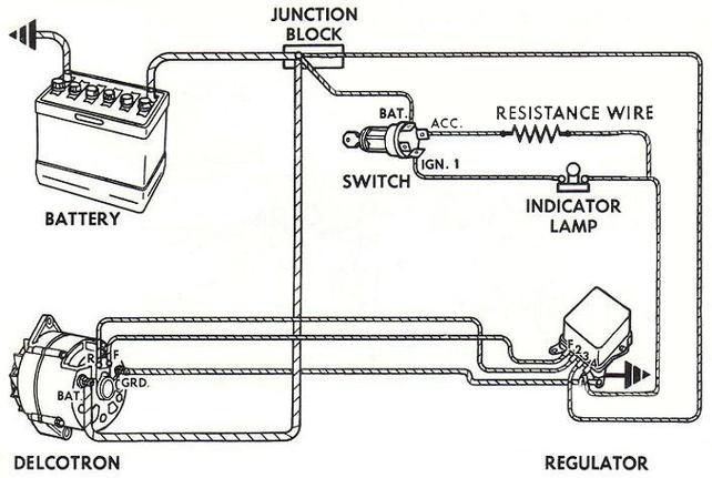 alternator internal regulator convertion the 1947 present alternator internal regulator convertion the 1947 present chevrolet gmc truck message board network