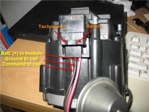 how to replace a points distributor with an h.e.i.?  the, Wiring diagram