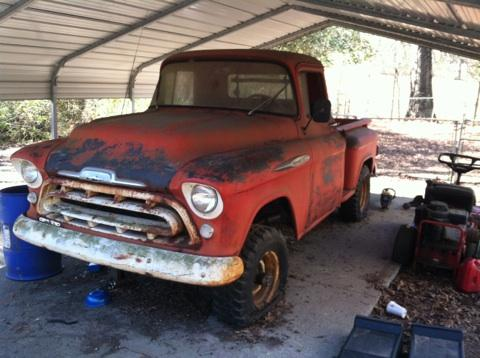 Barn Find 1957 Chevy Napco 12 Ton Short Bed The 1947 Present