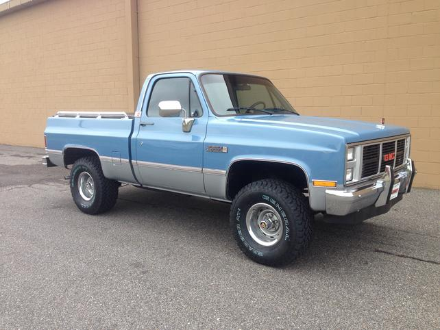 Will 33x10 5x15 Bfg At S Fit On A Stock 1985 K10 Stepside The