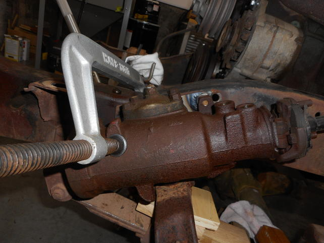 Where to Locate PS Gear Box for 64' K10 - The 1947 - Present