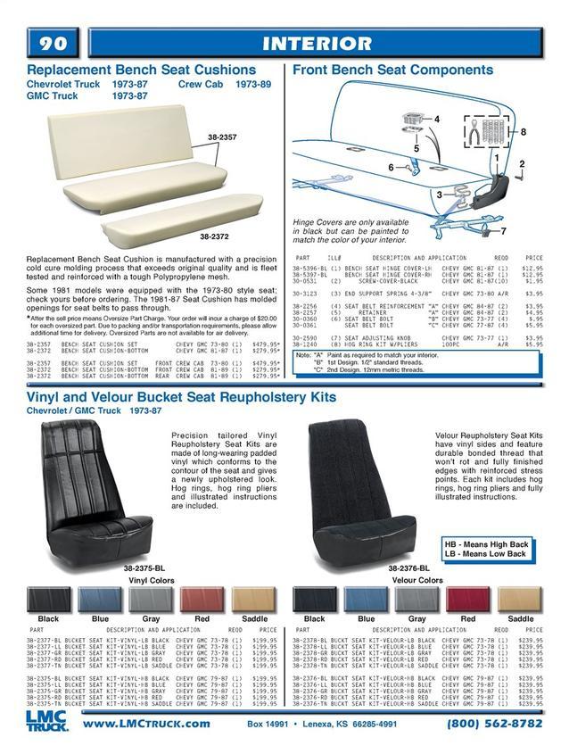Sensational 81 87 Bench Replacement Foam The 1947 Present Chevrolet Beatyapartments Chair Design Images Beatyapartmentscom