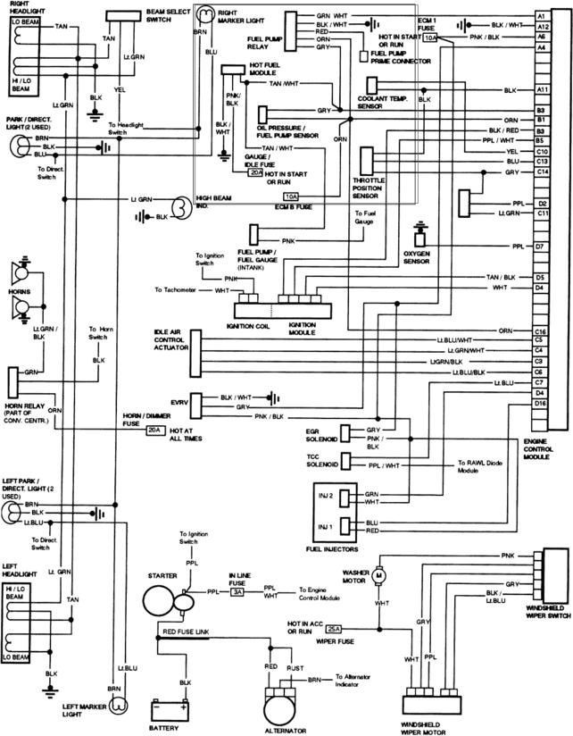fuel pump wiring diagram s10 wiring diagram wiring diagram 1988 chevy s10 fuel pump the