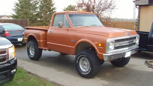 Pics Of Short Bed K10 With 33s And 25 Lift The 1947 Present