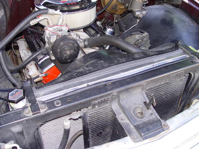 Incredible results (so far) with a new aluminum radiator - The 1947